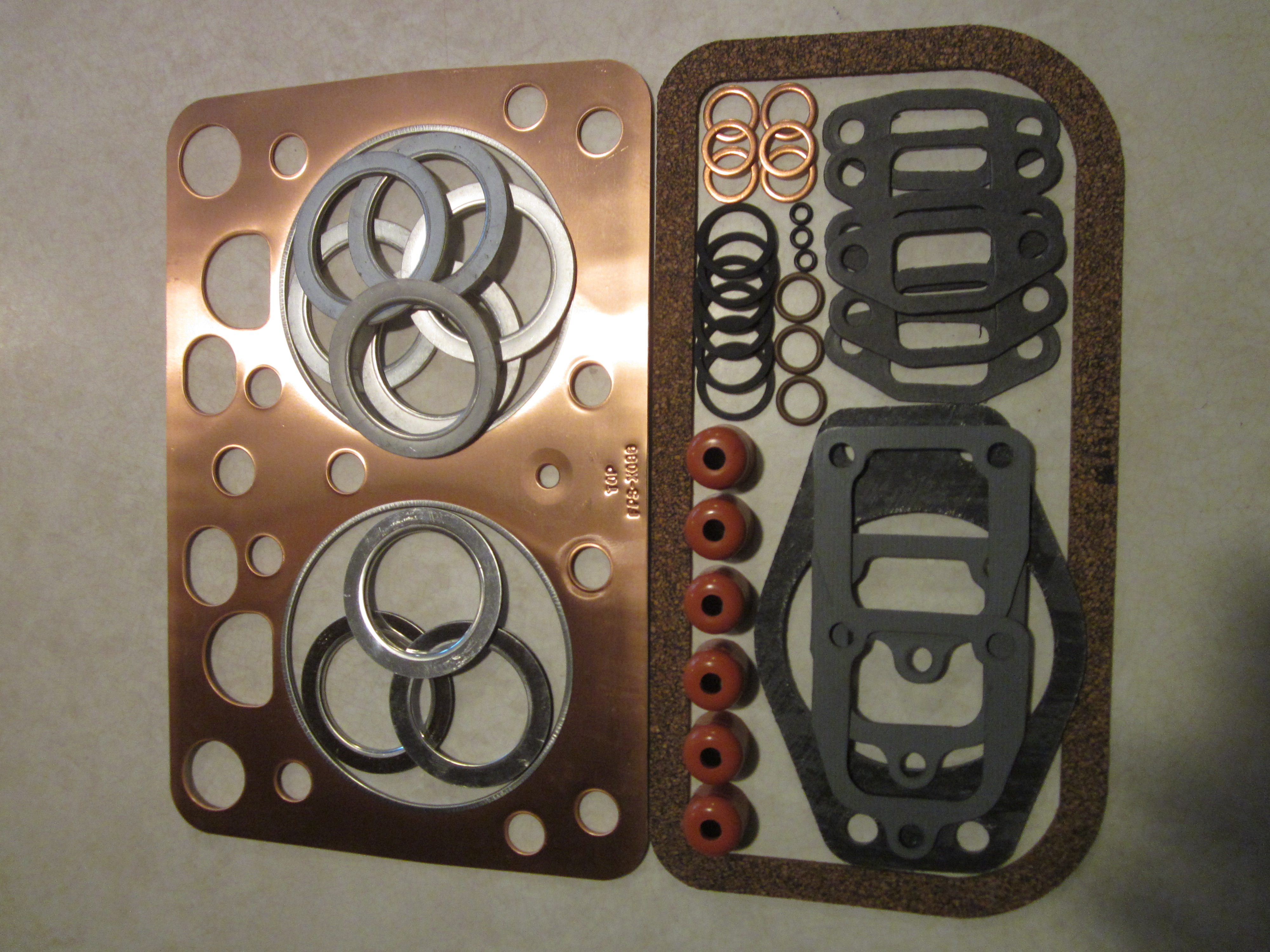 Case 500 600 900 Tractor A20148 Head Gasket Valve Grind ...